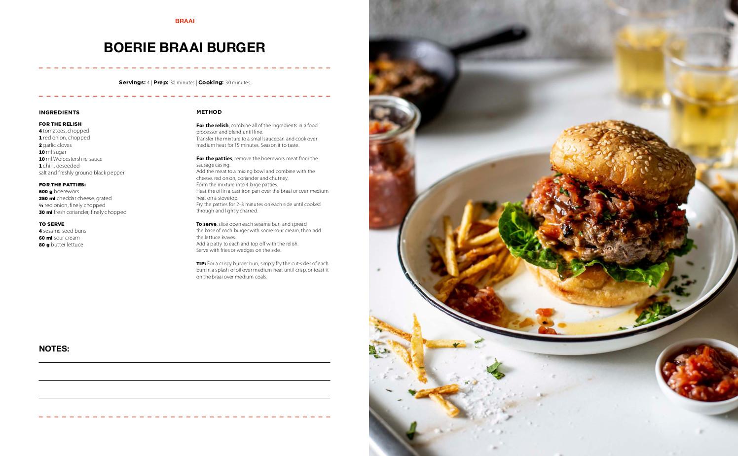 Braai recipe collection